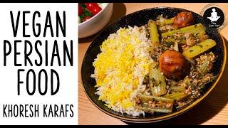 Vegan Celery Stew | Persian Vegan Recipes