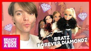 Bratz Forever Diamondz (Cloe, Yasmin, Sasha & Sharidan) - Doll Review - Beauty Inside A Box