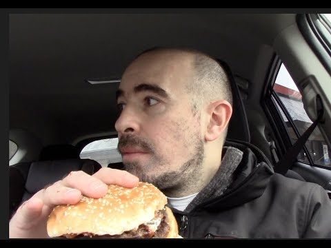 Food Review #4   Burger King's Bacon-Onion-Buffalo-King!!!