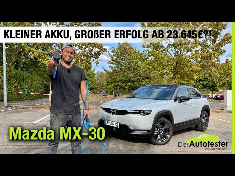 2021 Mazda MX-30 (145 PS)🔋🔌Kleiner Akku, großer Erfolg ab 23.645€?! 🤔 Fahrbericht | Review | Test