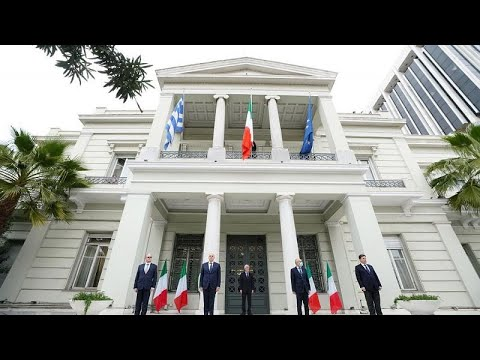 ΥΠΕΞ Ελλάδας: Συμβολική τελετή σε ένδειξη συμπαράστασης στην Ιταλία…