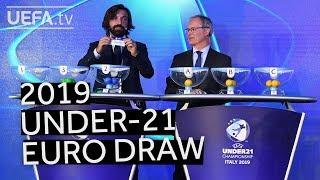 UEFA U21 EURO 2019 draw