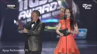 [MAMA 2014] Best Vocal Perfomance Female - Ailee (에일리) - '노래가 늘었어(Singing Got Better)'