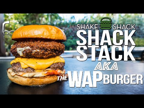 THE SHACK STACK FROM SHAKE SHACK….BUT HOMEMADE & WAY BETTER! | SAM THE COOKING GUY 4K