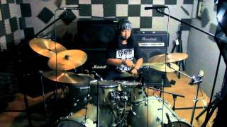 Panic Disorder - Singgasana Hitam 'drum played by sobron haki'