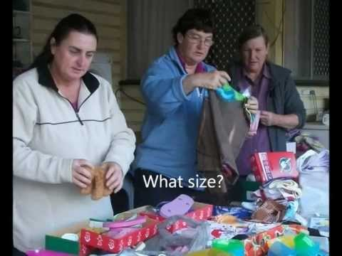 Shoe Box Pack For Operation Christmas Child