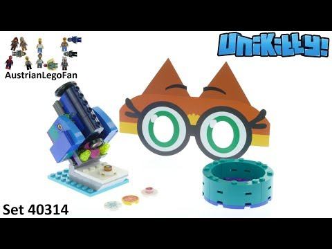 Lego Unikitty 40314 Dr. Fox Magnifying Machine -  Lego Speed Build Review
