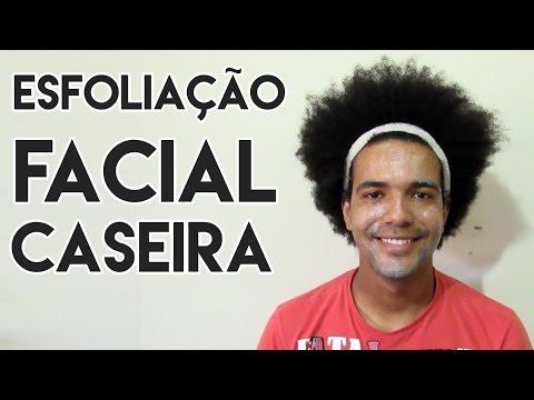 ESFOLIAÇÃO FACIAL CASEIRA MASCULINA