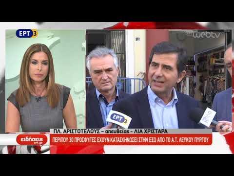 Πρόσφυγες και μετανάστες διαμαρτύρονται στην πλατεία Αριστοτέλους | ΕΡΤ