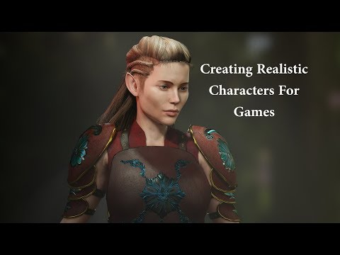 Creating Realistic Characters for Games Using Character Creator 3 and ZBrush.