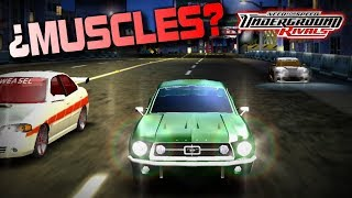 Coches exclusivos de Need For Speed Underground Rivals | ¿Muscles en NFS Underground?