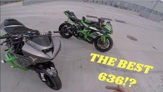 2013+ VS  03 04 Kawasaki 636 Stunt SHOWDOWN