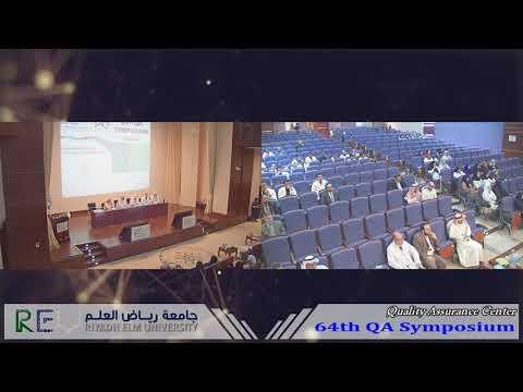 64th Quality Assurance Symposium - Part 1