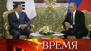 Торгово-экономическое сотрудничество России и Южной Кореи в центре внимания лидеров двух стран.
