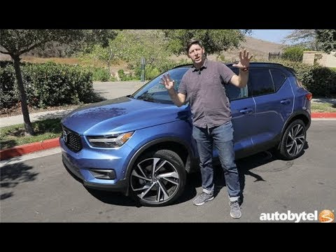 2019 Volvo XC40 R-Design AWD Test Drive Video Review