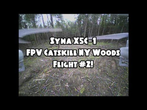 Syma X5C-1 | FPV Catskill NY Woods Flight #2! Feat. The TX03. (BANGGOOD)