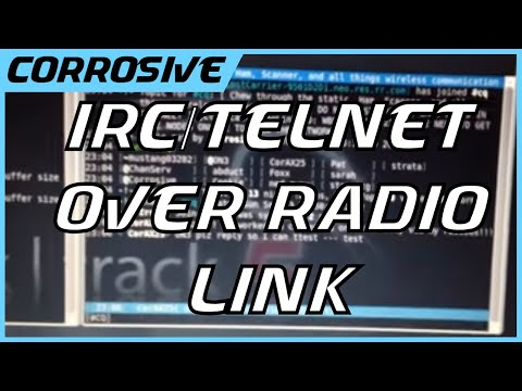 IRC and Telnet over AX 25 Radio Link - Free video search site