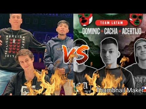 TEAM PERU VS TEAM LATAM / 3y4to PUESTO/ BATALLON