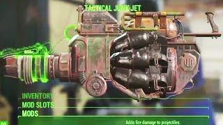 E3 2015: Fallout 4 Weapon Mod / Modified Armor Customization Walkthrough E3 2015