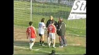 preview picture of video 'BENEVENTO GUALDO 1 a 1 del 19 marzo 2000 infortunio mastroianni'