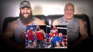 Kurt Angle & Braun Strowman rewatch 2017