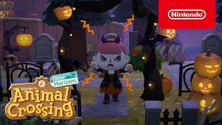Nintendo ¡Una actualización de miedo llega a Animal Crossing: New Horizons el 30 de septiembre! anuncio