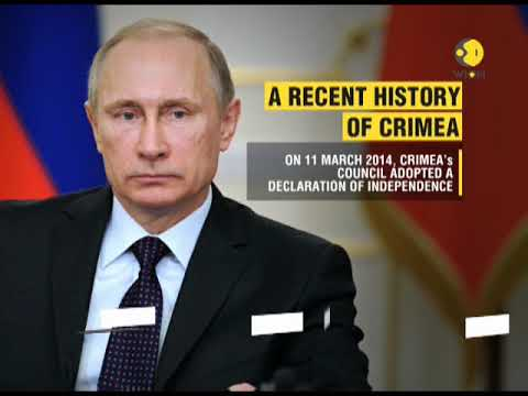 Russia presidential election: Crimea, a peninsula in the Black Sea votes for the first time