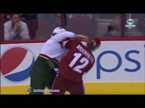 Paul Bissonnette vs. Michael Rupp