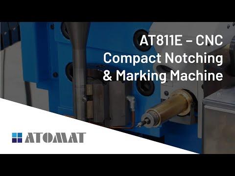 AT811E - CNC Compact Notching & Marking Machine