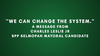 """""""We can change the system. You have more power than you believe."""" A message from Charles L"""