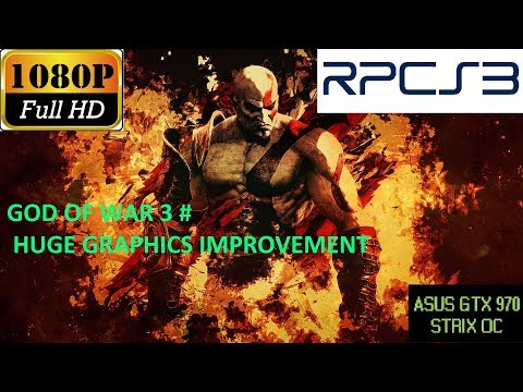 God of War 3 Graphics now RENDERING PERFECTLY in RPCS3, The
