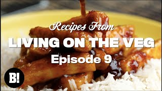 We made gooey PBJ BROWNIES and more - Living On The Veg Ep.9