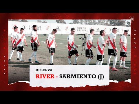 River vs. Sarmiento (J) [Reserva - EN VIVO]