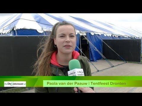 VIDEO | 1.400 Drontenaren vieren vanavond en morgenavond feest in de tent