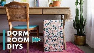 10 DIYs For Your Dorm Room! - HGTV Handmade