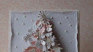 Топ 3 открыток на Новый год своими руками!)) Открытки за 5 минут)) Новогодняя рубрика началась!!!