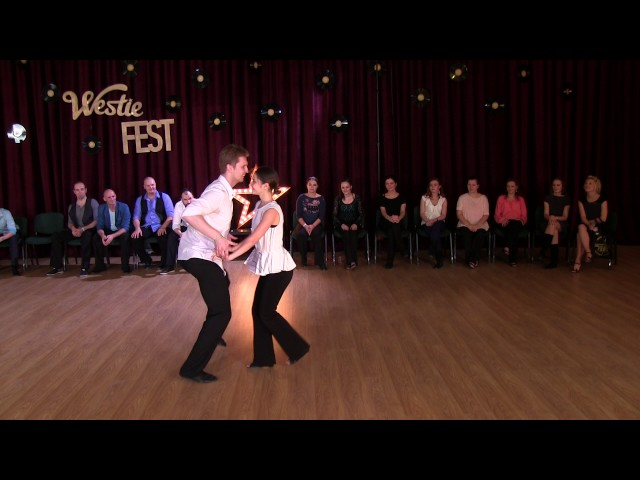 JnJ Advanced Finals — Konstantin and Maria. Moscow Westie Fest 2016