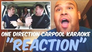 One Direction Carpool Karaoke [REACTION]