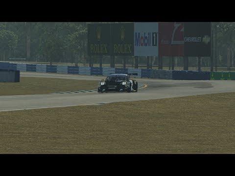 rFactor 2 - Porsche 911 GT3 R @ Sebring 12H [GT3 Challengers Pack