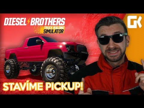 STAVÍME PICKUP! | Diesel Brothers Truck Building Simulator