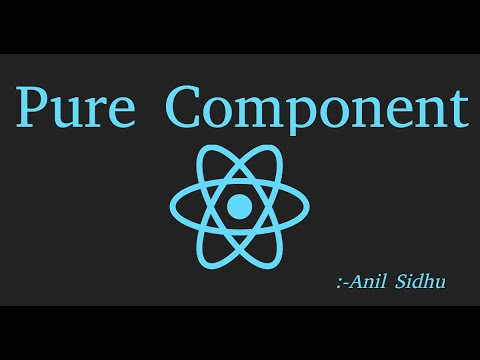React js Tutorial #34 pure component with example