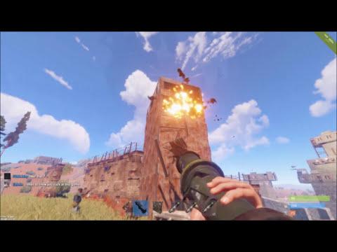 Rust   Defending 3 Onlines In 1 Night !
