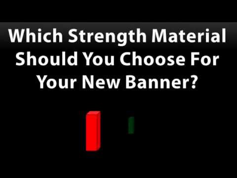 (Banner Signs) Which Thickness do you Need for Your banner Sign? - 2:34min