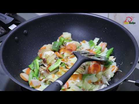 Bangladeshi Style Chinese Vegetables Recipe With All Time Available Vegetables