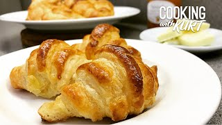 Classic French Croissants From Scratch | Cooking with Kurt (French Accent)