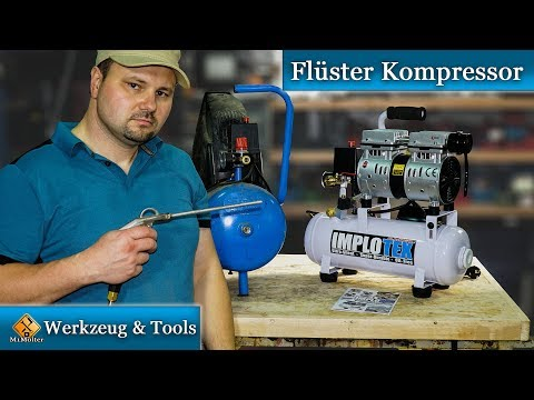 Flüster Kompressor Ölfrei / Mein neuer Silent Kompressor -  Review von M1Molter