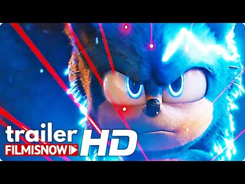SONIC THE HEDGEHOG Trailer NEW (2020) | James Marsden, Jim Carrey Videogame Movie