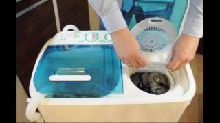 Стиральная машина полуавтомат Славда/Renova/EVGO WS-40PET от компании F-Mart - видео