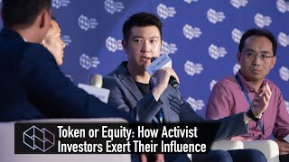 【ABS 2019】Token or Equity: How Activist Investors Exert Their Influence