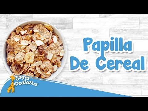 002 - Cómo Preparar Una Papilla De Cereal, Alimentación - SoyTuPediatra